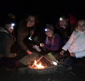 Girl Guides Campfire Session