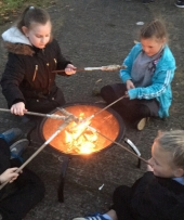 KS2 campfire cooking