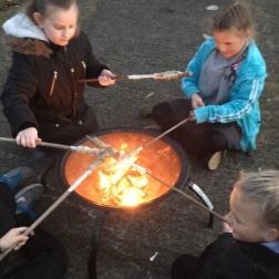 KS2 campfire cooking